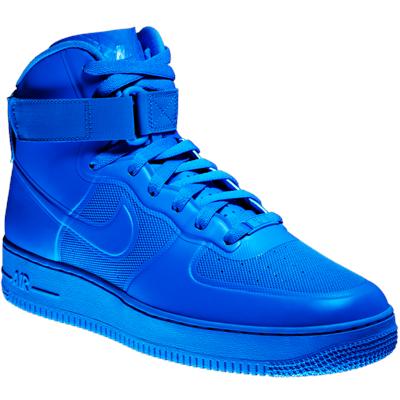 scarpe nike alte blu